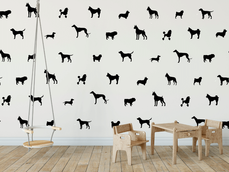 Playroom Decoration Ideas – Accent Wall