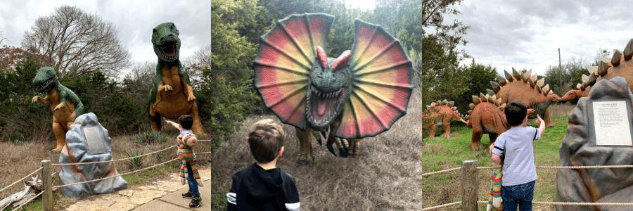 Dinosaur World in Glen Rose TExas
