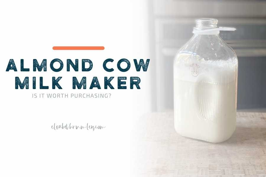Is The Almond Cow Machine Worth it?